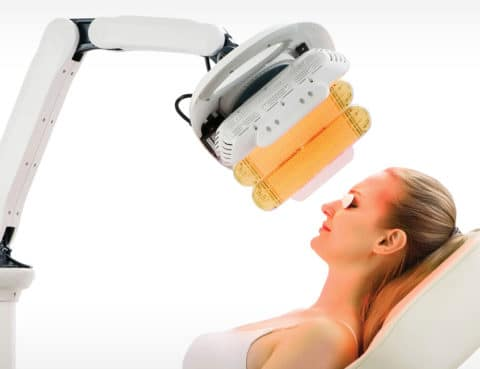LED Light Therapy Page Treatment